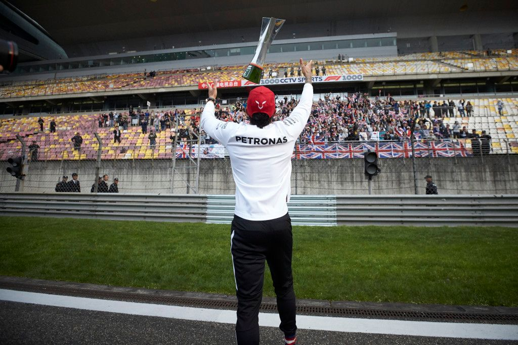 On This Day in 2019: Lewis Hamilton's 75th win in F1