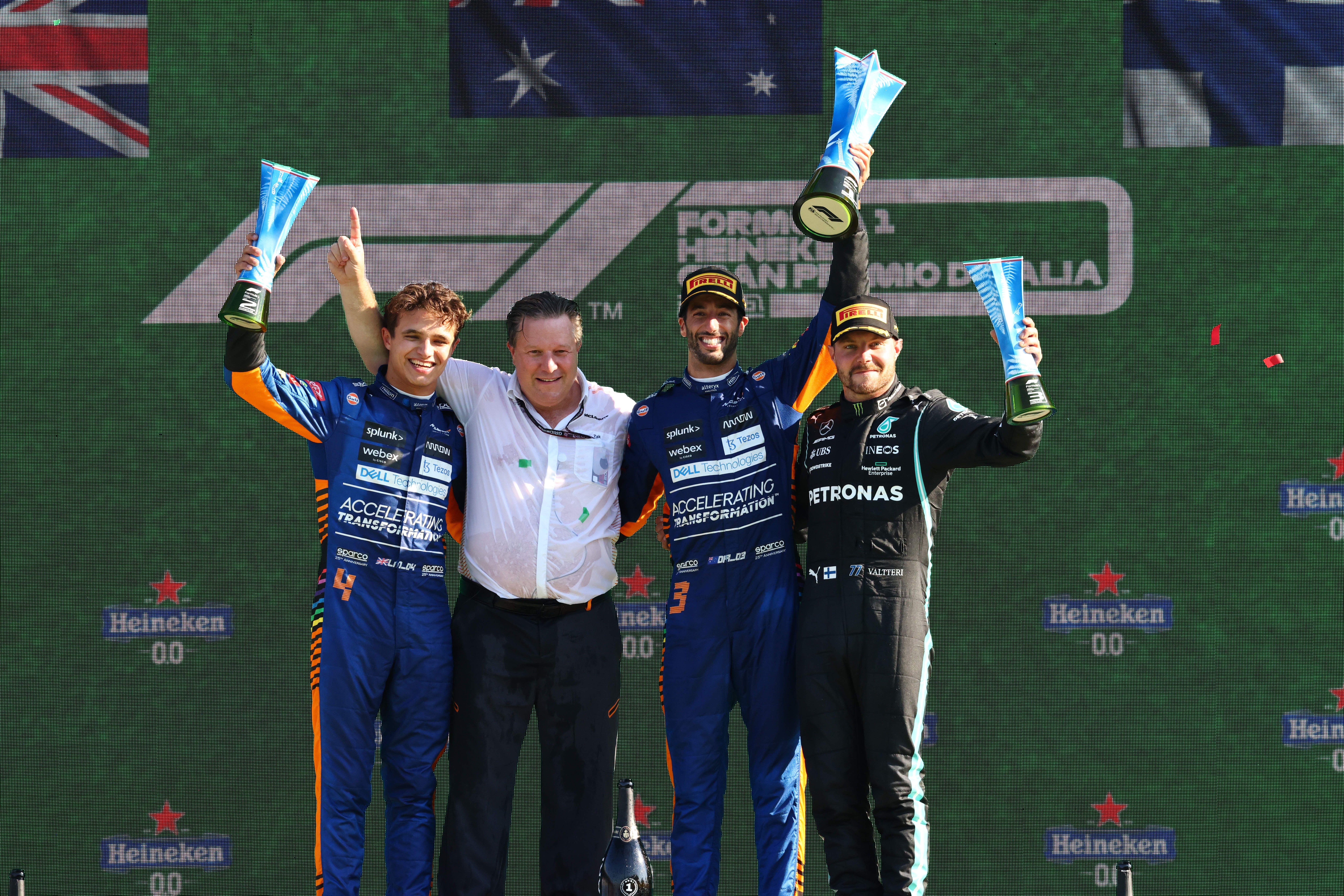 2021 Italian Grand Prix: Stats Breakdown
