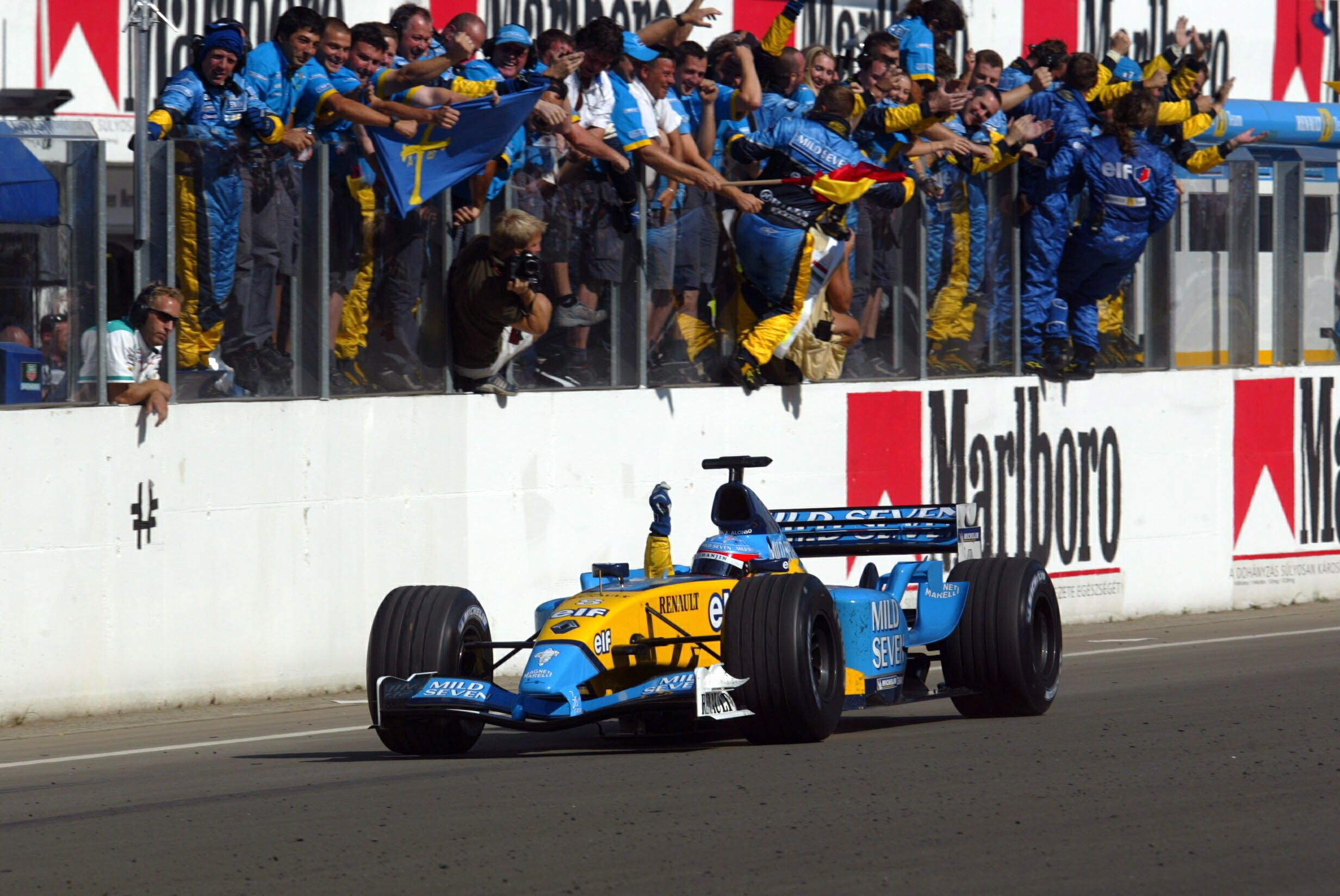 4 Drivers Who Took Their 1st Win At The Hungarian Grand Prix